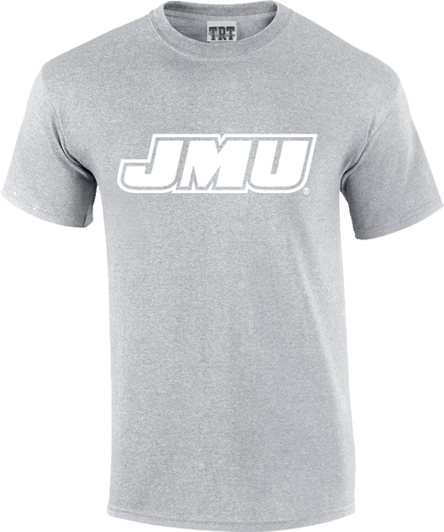 JMU Rainbow T's - Gray