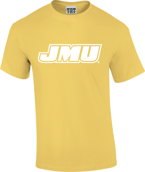 JMU Rainbow T's - Yellow Haze