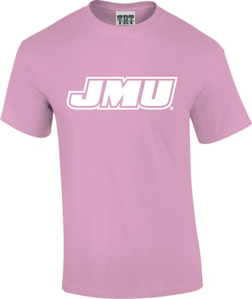 JMU Rainbow T's - Pink