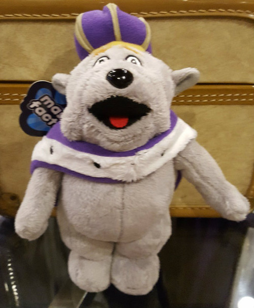 "JMU Duke Dog 6"" Mascot Stuffed Animal"
