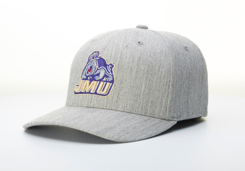 Wool FlexFit Hat - JMU Full Dog