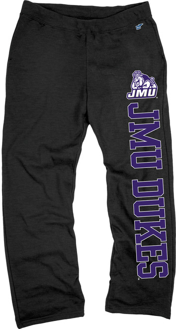 Open Bottom JMU Dukes Sweatpants