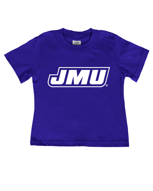 Baby JMU Rainbow Tee - Purple
