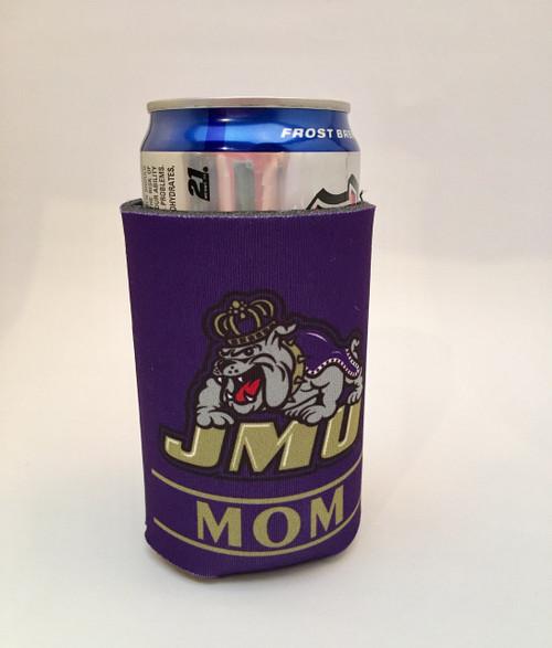 JMU Mom Koozie