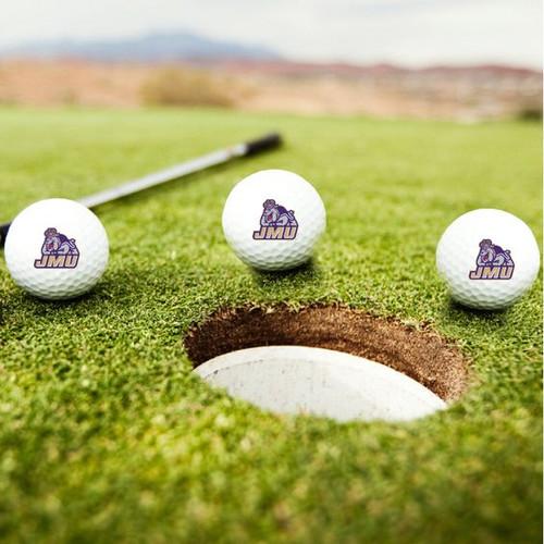JMU Duke Dog Golf Balls - Pack of 3