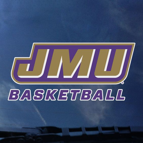 JMU Basketball Decal