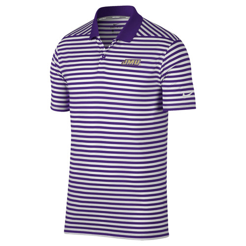 Nike JMU Victory 2.0 Mini Stripe Polo
