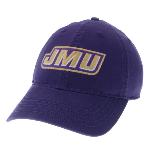 """The Champ"" JMU Slant Logo Hat"