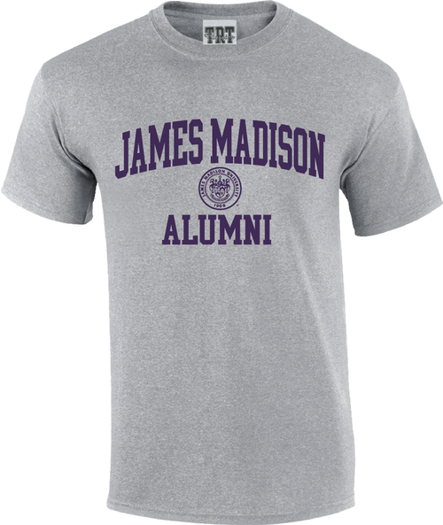 James Madison Alumni with Crest T-shirt