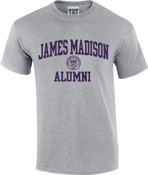 James Madison Alumni with Crest T-shirt