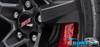 Camaro Black SS Center Cap Kit (Includes 4) - Wildhammer