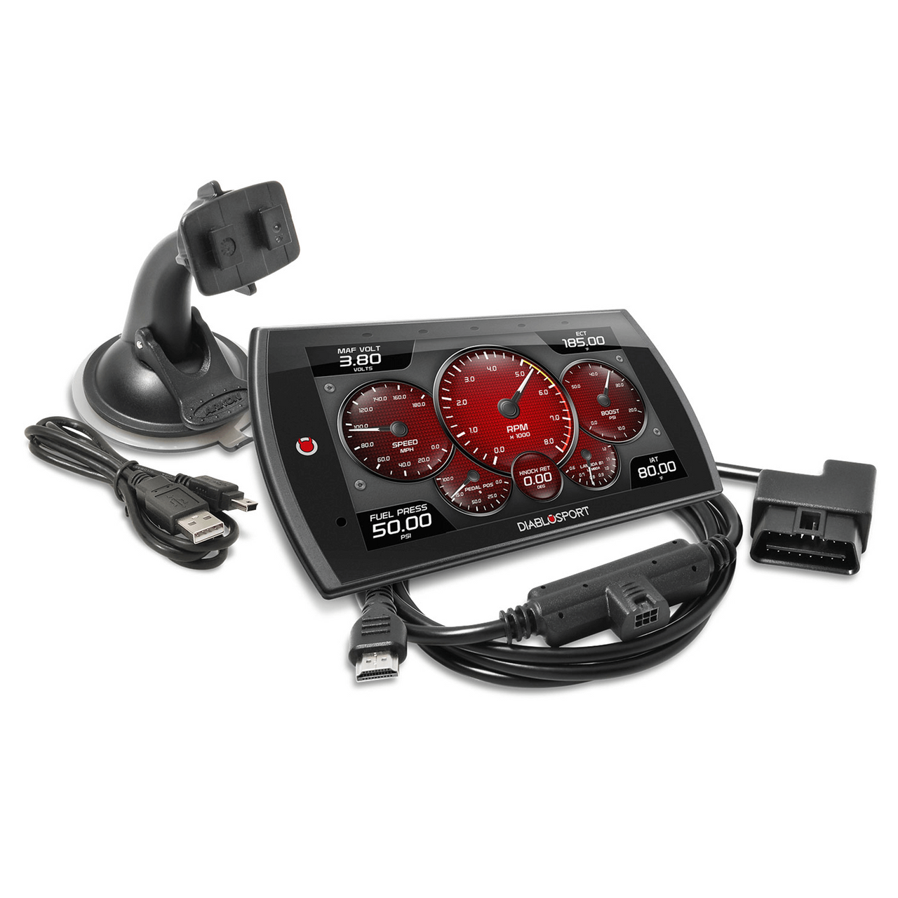 NEW DIABLOSPORT TRINITY 2 MX IN-CAB TUNER,COLOR TOUCH SCREEN DISPLAY,GASOLINE,COMPATIBLE WITH 1999-2020 CHEVY CAMARO /& 1999-2018 CORVETTE
