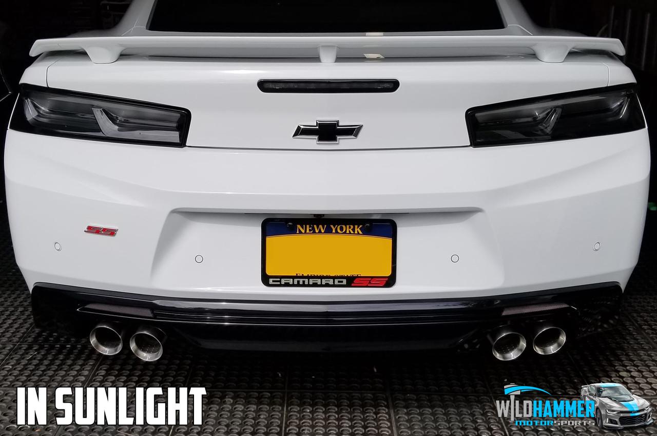 Camaro Rear Dark Reflectors - Wildhammer