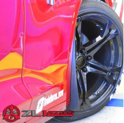 Camaro LS/LT & SS Deluxe Splash Guards - ZL1 Addons
