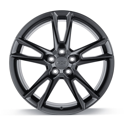 Camaro 5-Split Spoke Wheel Package in Satin Gloss Black - General Motors