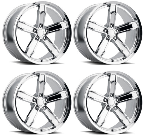 Camaro Z10 Iroc Wheel Kit Chromeincludes 4 Front Rear