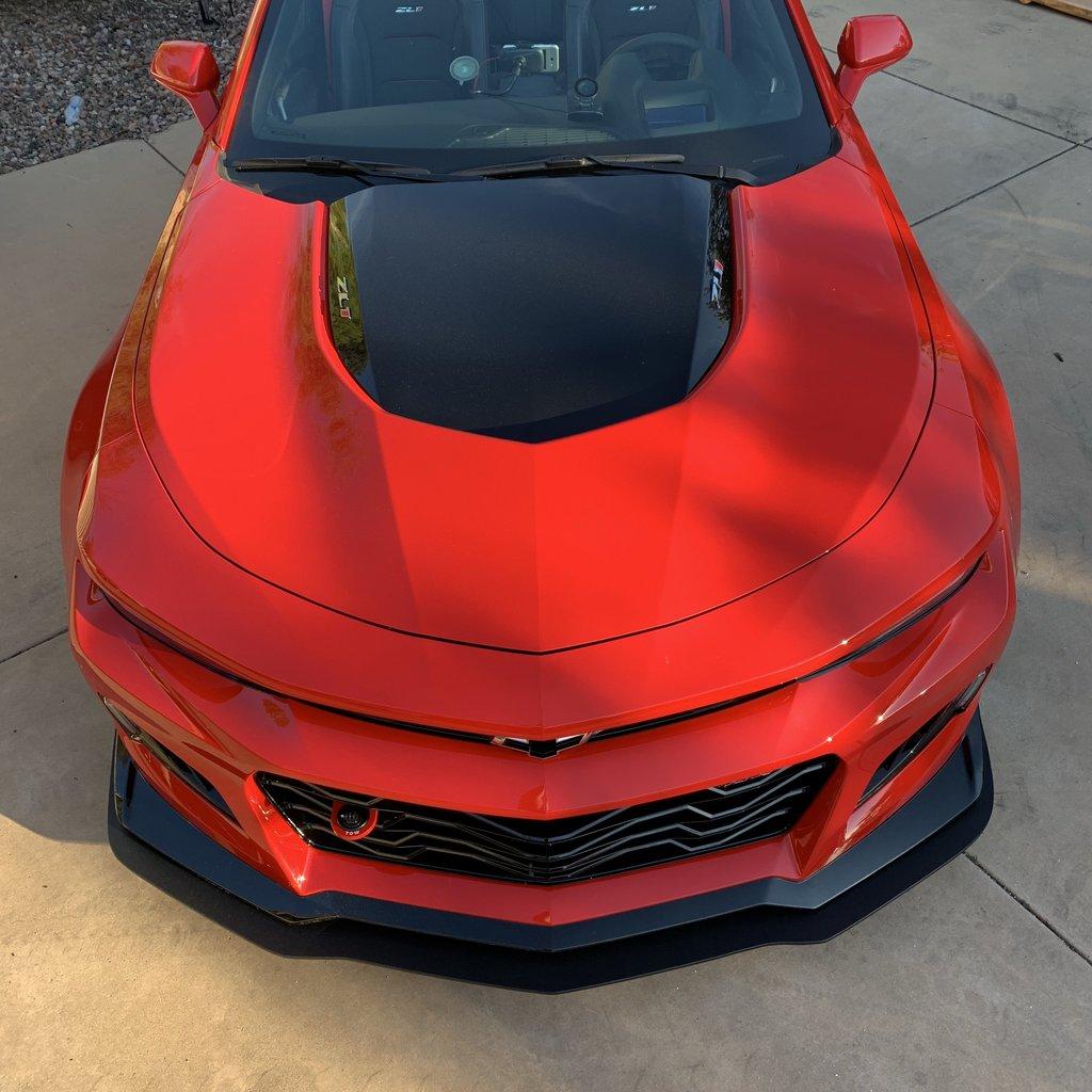 2016-2018 Gen 6 Camaro Splitters