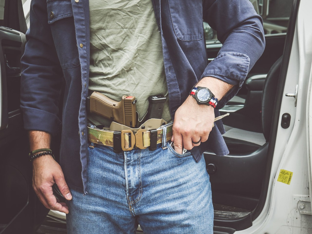 BLACK SCOUT CB (CONCEALMENT BELT™)