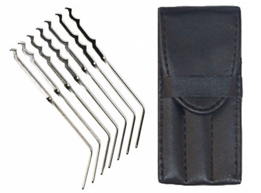 Bogota® Ti Lock Picks 7pc