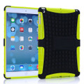 Green Shock Proof Protective Hybrid Kickstand Case For Apple iPad Mini 3 - 1