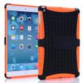Orange Heavy Duty Defender Hybrid Kickstand Case For Apple iPad Mini 3 - 1