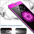 """Hot Pink Apple iPhone 6 / 6S 4.7"""" Full Cover Tempered Glass Screen Protector - 2"""