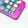 """Hot Pink Apple iPhone 6 / 6S 4.7"""" Full Cover Tempered Glass Screen Protector - 4"""