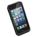 Apple iPhone 5 5S Waterproof Dirtproof Heavy Duty Case - Black - 5