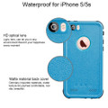 Apple iPhone 5 5S Waterproof Dirtproof Heavy Duty Case - Blue - 3