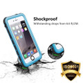 Apple iPhone 5 5S Waterproof Dirtproof Heavy Duty Case - Blue - 5