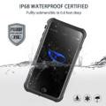 Apple iPhone 6 / 6S Waterproof Dirtproof Shock Proof Case - Black - 2