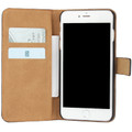Black Genuine Leather Wallet Case for Apple iPhone 7 Plus - 2