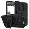 """Black Heavy Duty Protective Stand Case For Samsung Galaxy Tab A 7.0"""""""