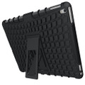 Black iPad 2017 Heavy Duty Hybrid Kickstand Protective Cover Case - 2
