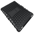 Black iPad 2017 Heavy Duty Hybrid Kickstand Protective Cover Case - 4