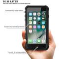 Apple iPhone 7 Waterproof Dirtproof Heavy Duty Case Cover - Black - 5