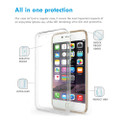 Soft TPU Protective Case For Apple iPhone 8 Plus Crystal Clear Gel - 3