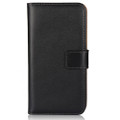 Apple iPhone 8 Plus Black Genuine Leather Business Wallet Smart Case Cover - 2