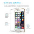 Apple iPhone X / XS Soft TPU Protective Smart Case Cover Crystal Clear Gel - 3