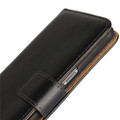 Black Genuine Leather Business Wallet Smart Case For Samsung Galaxy S8 Plus - 3