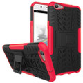Red Tradies / Builders Tough Hybrid Kickstand Case for Oppo A57
