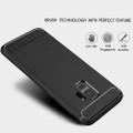 Black Samsung Galaxy S9 Slim Armor Carbon Fibre Case Cover - 2