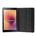 Black Galaxy Tab A 8.0 (2015) T350 T355 360 Rotating Stand Case - 7