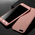 Rose Gold Oppo A73 / F5 Full Body Coverage 360 Degree Protection Case - 2
