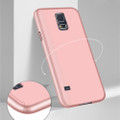 Rose Gold Galaxy J7 Pro (2017) Full Body 360 Degree Protect Case - 2
