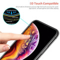 5D Full Cover Tempered Glass Screen Protector For iPhone XR - 4