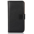 iPhone XS Max Genuine Leather Business Wallet Smart Case - Black - 2