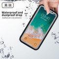 Black Full Body Water Resistant TPU Gel Case For Apple iPhone XS Max - 5