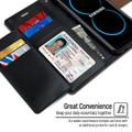 Premium Galaxy S8 Plus Genuine Mercury Rich Diary Wallet Case - Brown - 4