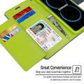 Quality Galaxy S8 Genuine Mercury Rich Diary Wallet Case - Navy - 4